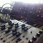 Clinker's Minimoog Model D + Frostwave Sequencer