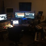 Studio Setup for 2.57k Score 2014